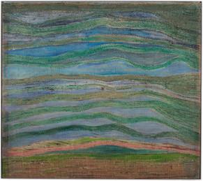 Himmel und Erde, Luftsrömungen, Chlorophylltransfusion, 2002, 162x182cm