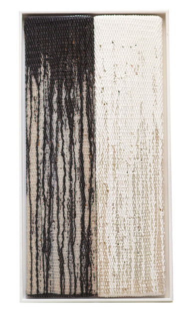 Silikone, Schwarz-Weiß, 1995, 46x90cm