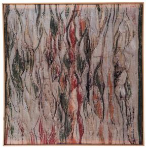 """1. Chlorophylltransfusion """"Pflanzenstillleben""""1997, Zustand 1, 179x170cm"""