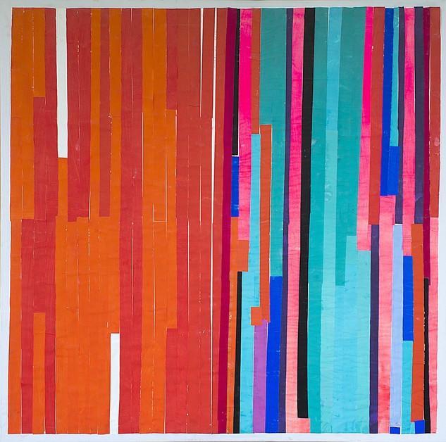 work 87, 2015, 143x143cm
