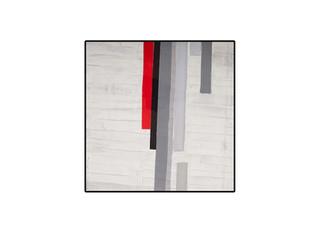Strip-Cut-Collage, work 90, 2010, 61x61cm