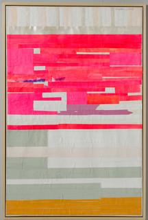 Strip-Cut-Collage, work 82, 2016, 160x106cm