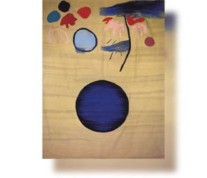 Blaue Kugel, 1990, 180x226cm