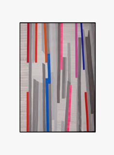 Strip-Cut-Collage, work 20, 2010, 162x113cm