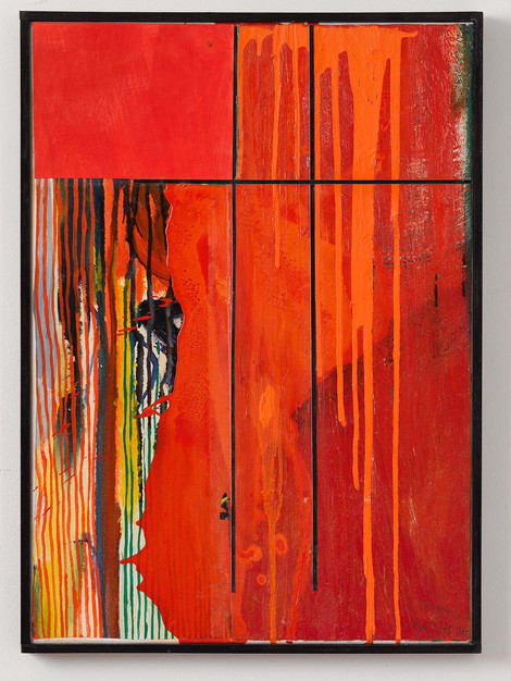 Oil-Cut Nr. 23, 2017, 73x43cm