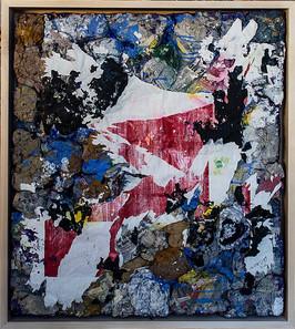 work 99, 2015, 86x76cm