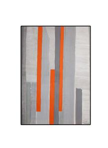 Strip-Cut-Collage, work 22, 2010, 70x50cm