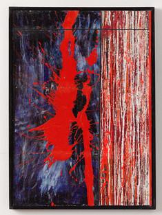 Strip-Cut-Collage Nr. 21, 2017, 73,5x53,5cm