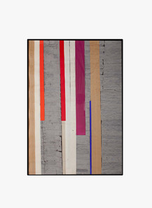 Strip-Cut-Collage, work 33 A, 2010, 120x85cm