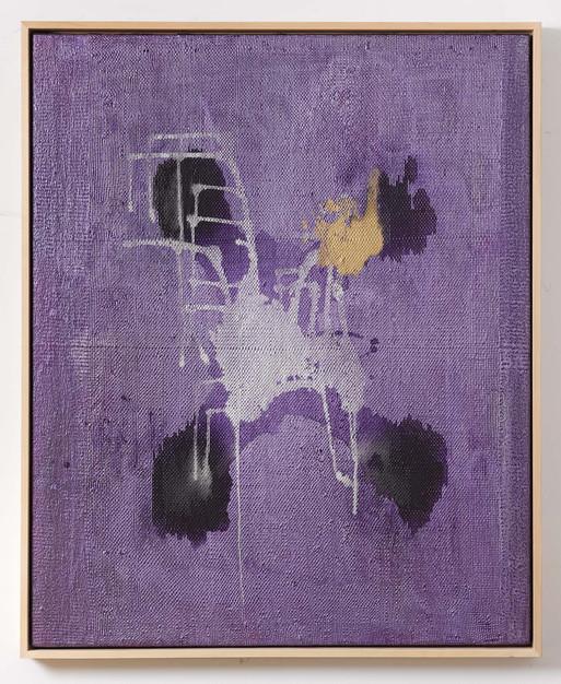 Silikone Violett, 2012, 166x136cm