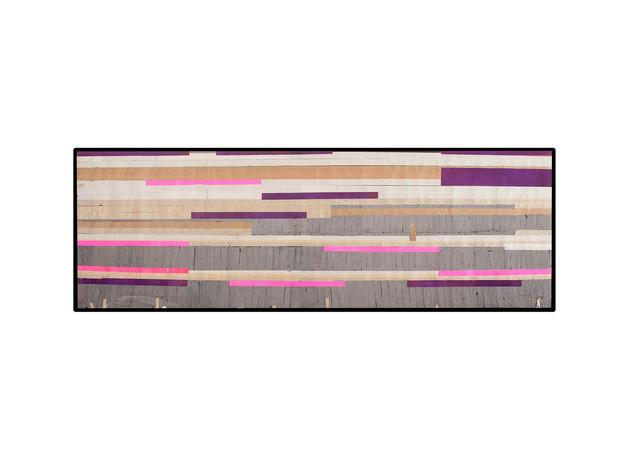 Strip-Cut-Collage, work 6, 2010, 290x97cm