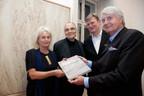 2017, Buchpräsentation Galerie Ropac, Monika Fioreschy, Friedhelm Mennekes, Thomas Zuhr, Jürgen Tesch
