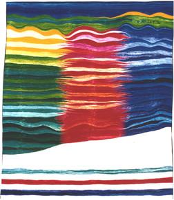 Bildteppich: Feuer, 1991, 222x175cm