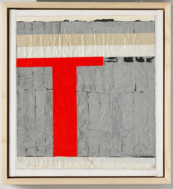 Sgtrip-Cut-Collage, work 43 A, 2013, 61x56cm