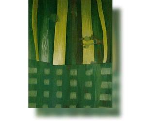 Bildteppich: Grün, 1981, 165x135cm