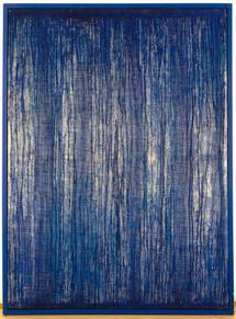 Blaues Transfusionsbild 1995, 155,5x115c