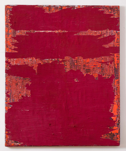 Silikone Rot, 2000-2016, 162x132cm