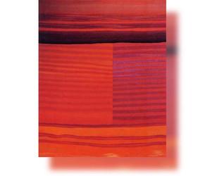 Bildteppich, Rot, 1981, 155x113cm