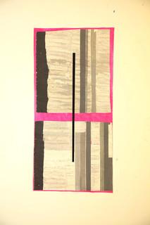 Strip-Cut-Collage, work 78, 2012, 137x68cm