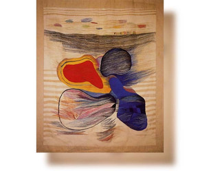 Bildteppiche: 4 Kontinente, 1987, 244x207cm
