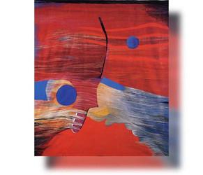 Bildteppich: Erotischer Bildteppich, 1988, 226x245cm