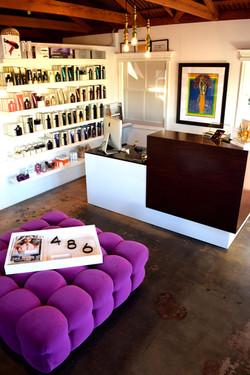 Studio 486 Salon Newport Reception