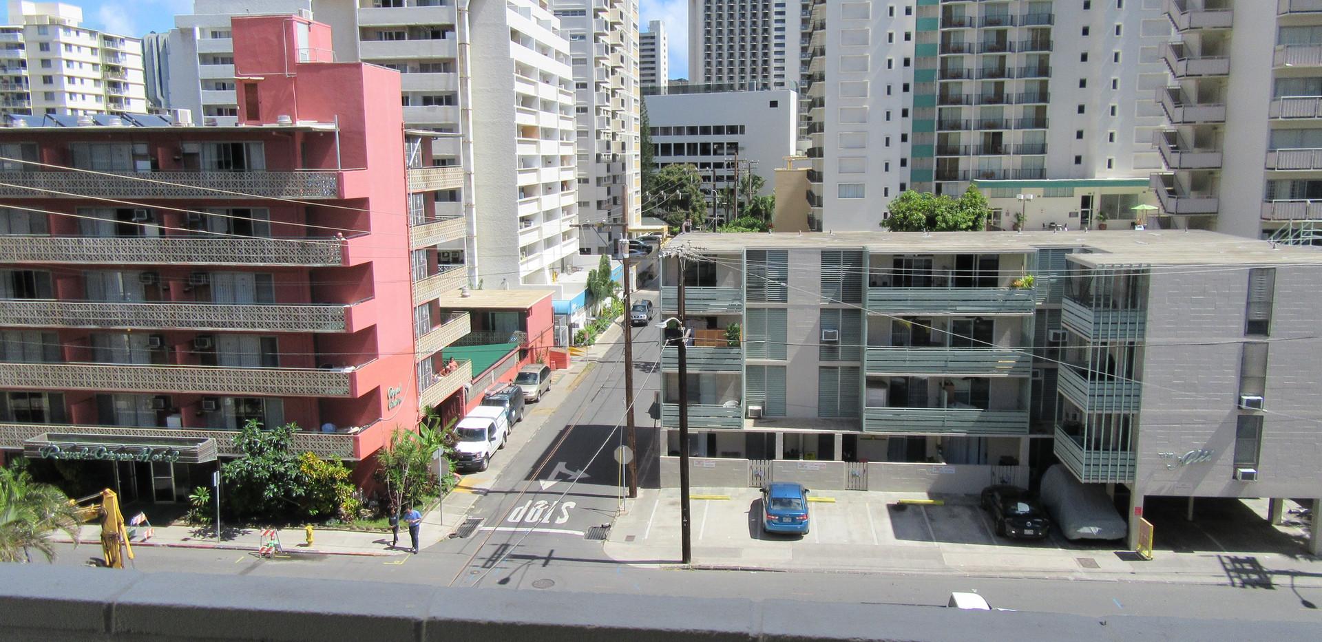 View from Sixth floor Economy Double