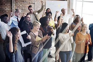pessoas Clapping