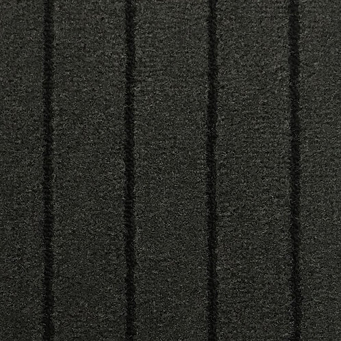 MARINE TUFT  143 CHARCOAL BLACK  195 CM BREDDE