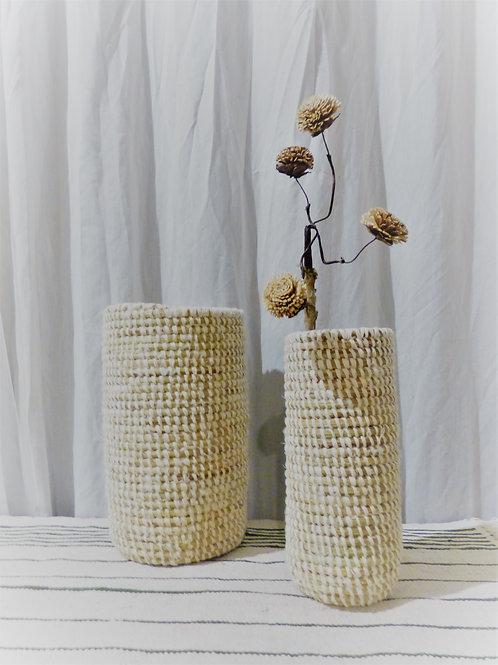 Lot de vases ronds  EA DECO