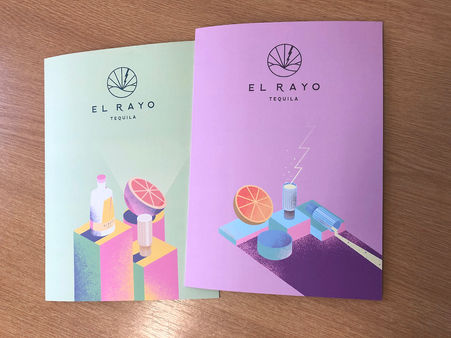El Rayo Tequila Booklets
