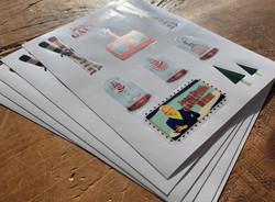 Jean Paul Gaultier Stickers
