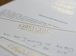 Gold Foil Stationery