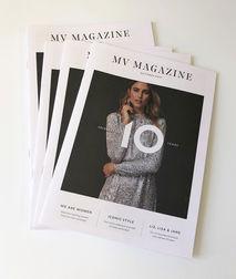 Mint Velvet 10 year anniversary magazine.