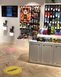 Happy Socks Covid floor vinyls
