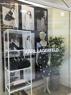 Karl Lagerfeld Window