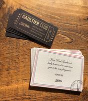 Jean Paul Gaultier Invites