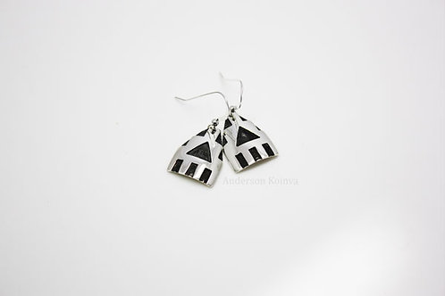 Snow Clouds Earrings (2)