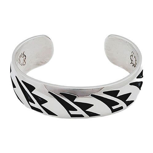 "Prayer Feather 3/4"" Bracelet Cuff"