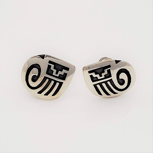 Kachina Kilt Clip On Earrings