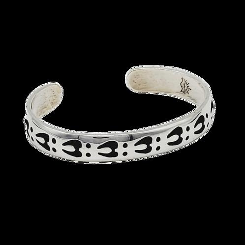 Deer Track Bracelet Cuff (1/2 Inch)