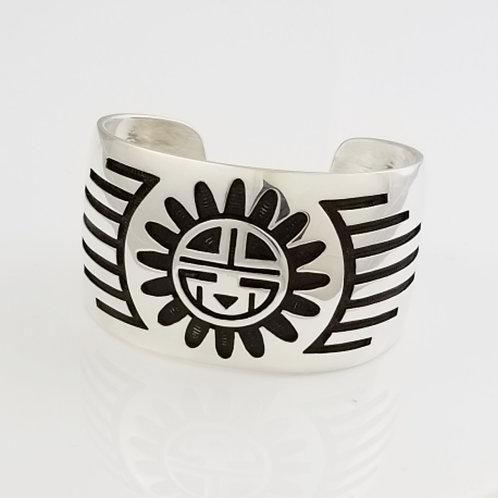 Sun God Bracelet Cuff (Tapered)