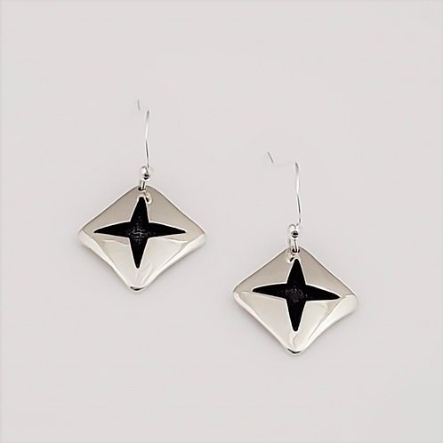 Winter Stars Dangled Earrings