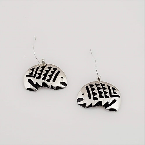 Fish Dangled Earrings