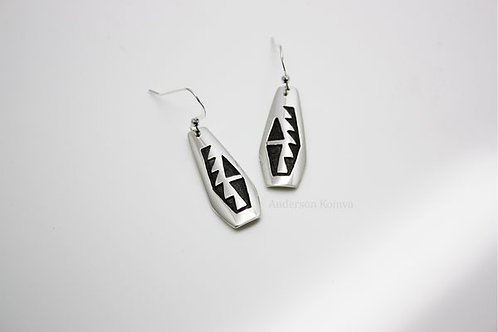 Tobacco Plant Earrings (2)