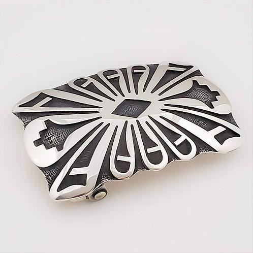 "Prayer Feathers Belt Buckle (1.5"")"