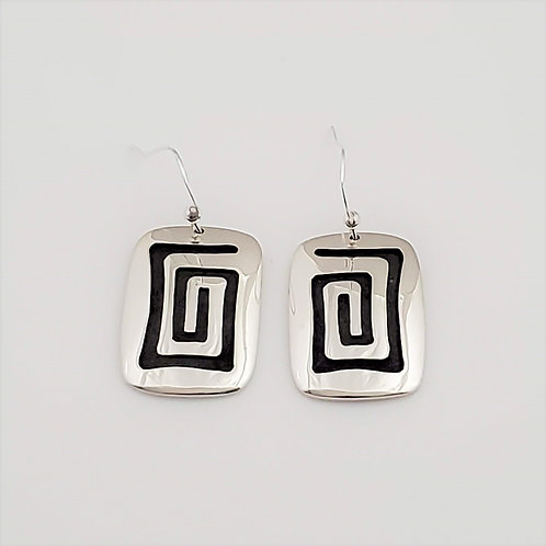 Water Ripple Dangled Earrings