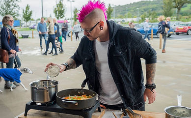 Punk Chef at Gloucestershire