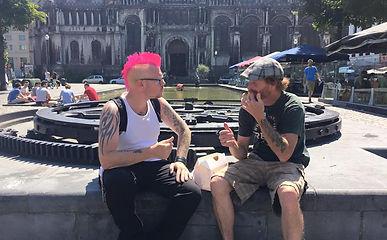 Punk Chef and Kurt in Europe