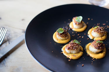 seared-scallops-entree-for-lunch-with-pu